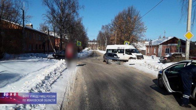 15-летняя девочка пострадала в ДТП в Иванове