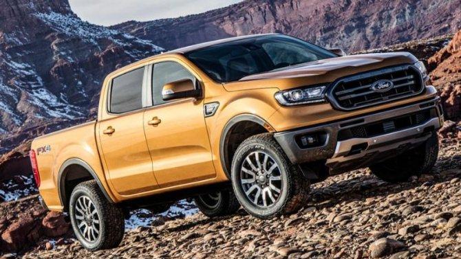 Новый Ford Ranger получит гибридную модификацию