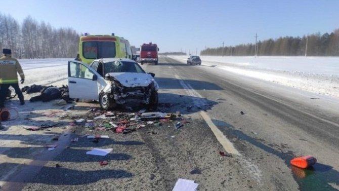 Четыре человека погибли в ДТП в Татарстане