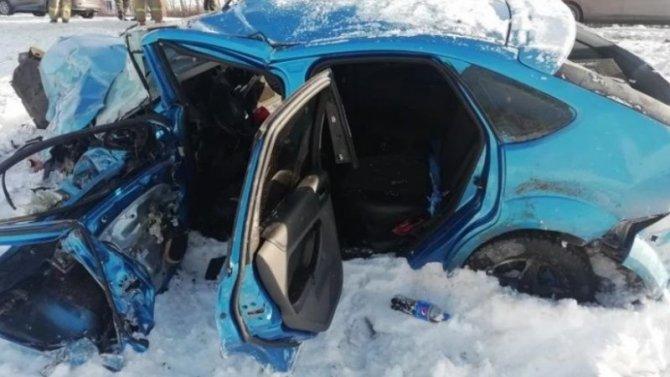 ВРязанской области столкнулись две иномарки, пострадало 4 человека