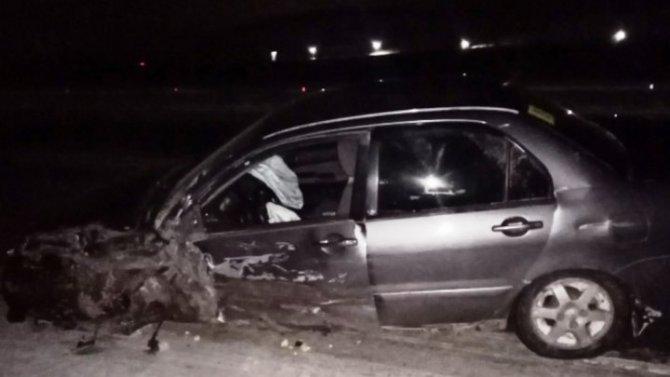 Водитель без прав совершил ДТП под Красноярском исбежал сместа аварии