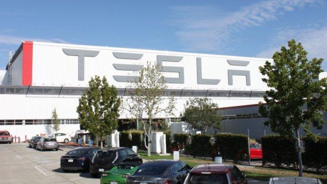 Фирма Tesla остановила один свой завод