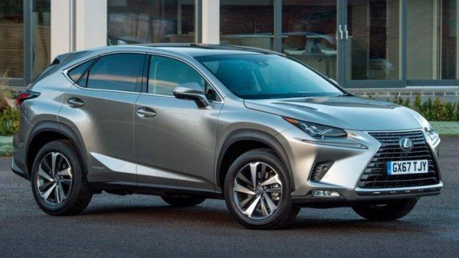Каким будет дизайн нового LexusNX?