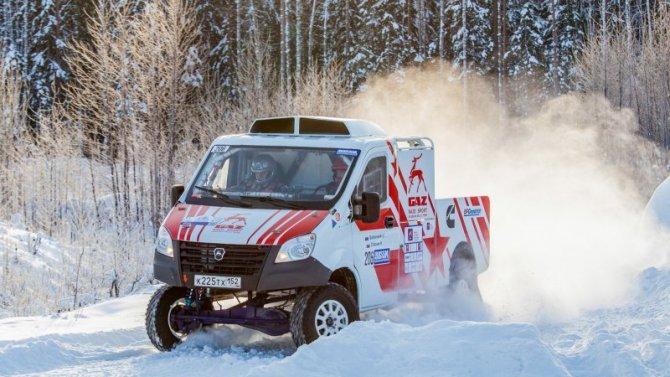 Автомобили «ГАЗель Next» вновь дважды отличились вавтоспорте