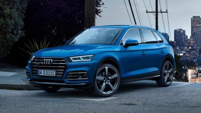 Гибриды Audi получили увеличенный пробег наэлектротяге