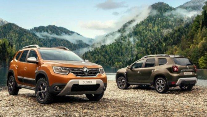 В России начался приём заказов нановый Renault Duster