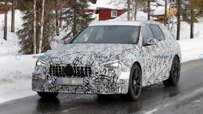 Появились подробности о новом универсале Mercedes-AMG C63