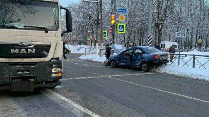 Два человека пострадали в ДТП в Приозерске