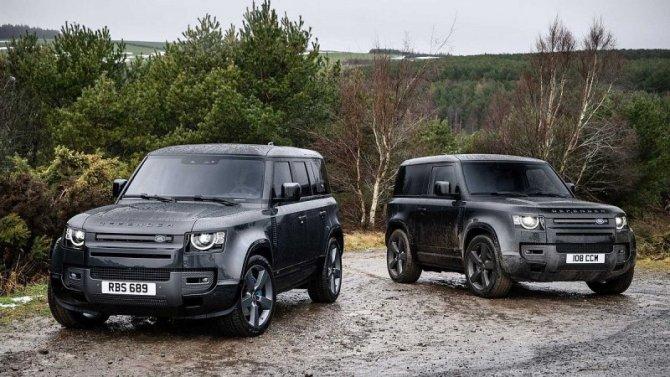 Представлен восьмицилиндровый Land Rover Defender