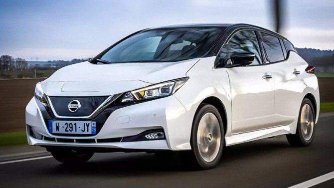 Nissan Leaf получил юбилейное исполнение