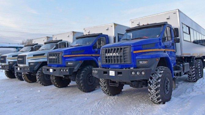 ВРоссии представлен внедорожный автобус «Урал Берлога»