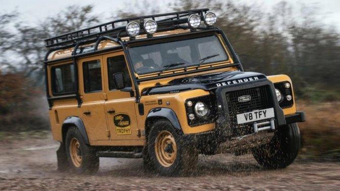 Возобновлён выпуск старых Land Rover Defender