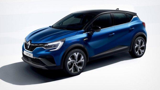 Renault Captur получил новое исполнение