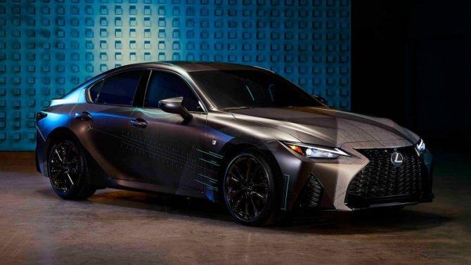 Lexus IS получил специальное исполнение для геймеров