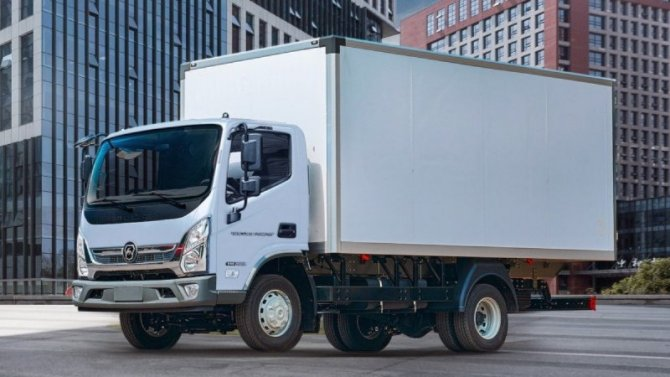 Начались продажи грузовиков «ГАЗ Валдай Некст»