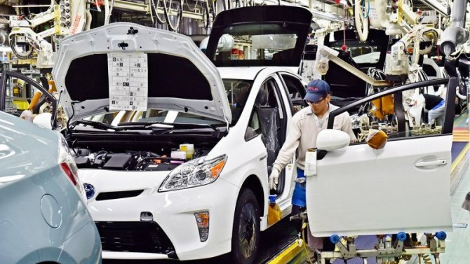 Toyota стала лидером помировым продажам автомобилей