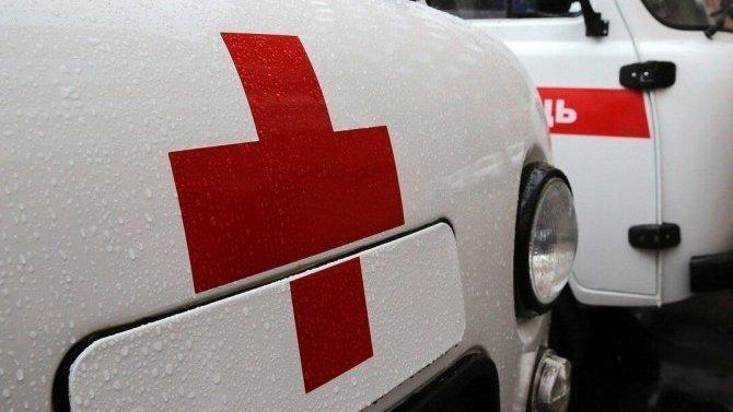 В ДТП с такси в Москве пострадал человек