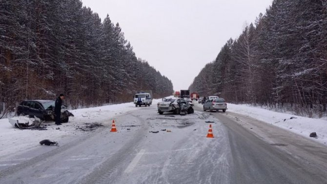 В ДТП на Режевском тракте погиб человек
