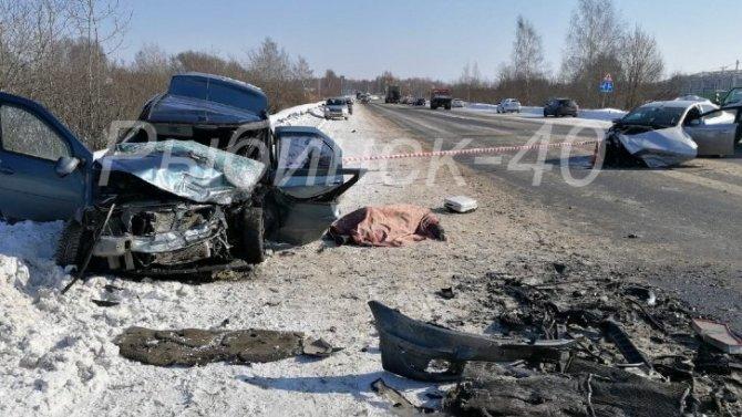 В Рыбинске в ДТП на окружной погиб мужчина