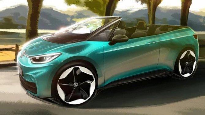 Volkswagen I.D.3 может стать кабриолетом