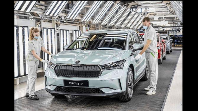ŠKODA выпустила 15-миллионный автомобиль