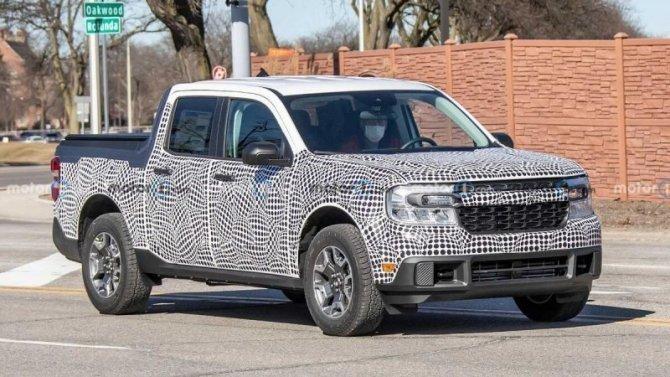 Ford Maverick обзаведётся гибридной версией