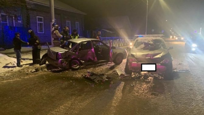 Мужчина и подросток пострадали в ДТП в Малоярославце