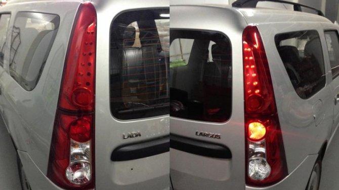 Lada LargusFL неполучит дополнительных задних фонарей
