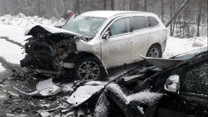 Четыре человека пострадали в ДТП в Калужской области
