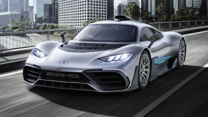 Представлен гиперкар Mercedes-AMG One