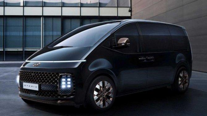Минивэн Hyundai Staria: стало известно больше