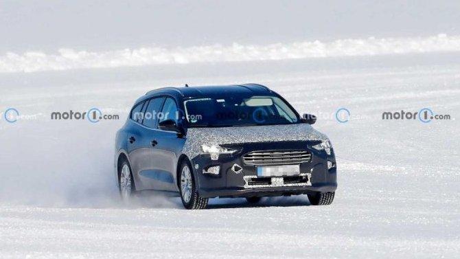 Начались испытания обновлённого универсала Ford Focus Active