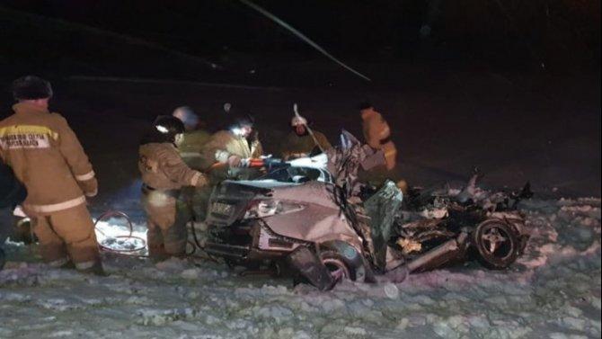 Двое взрослых и ребенок погибли в ДТП в Самарской области
