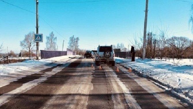 В Тверской области на переходе сбили девочку