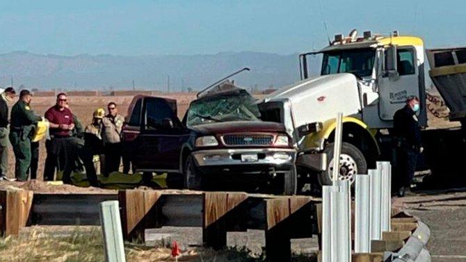 В ДТП в Калифорнии погибли 13 человек