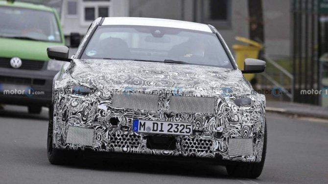 Около «Нюрбургринга» замечен прототип нового BMW M2 Coupe