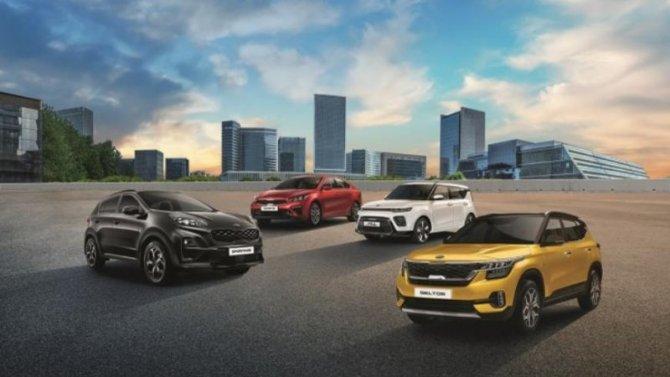 ВРоссии появились новые версии четырёх моделей KIA