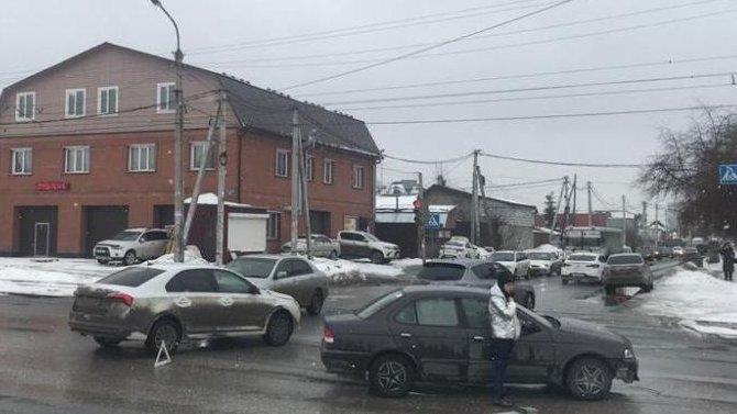 10-летняя девочка пострадала в ДТП в Новосибирске