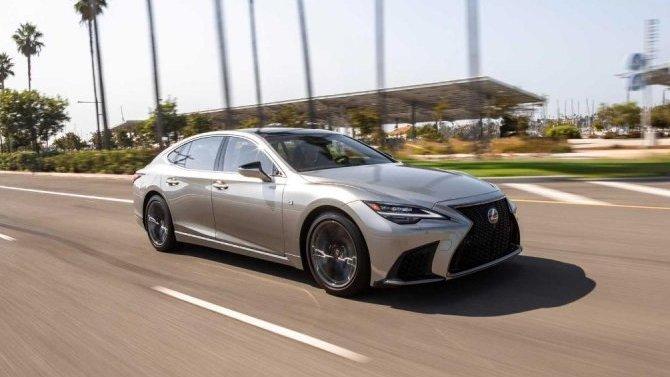 Названа стоимость гибридной модификации LexusLS