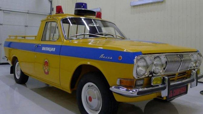 На продажу выставлен уникальный пикап ГАЗ-24 «Волга»
