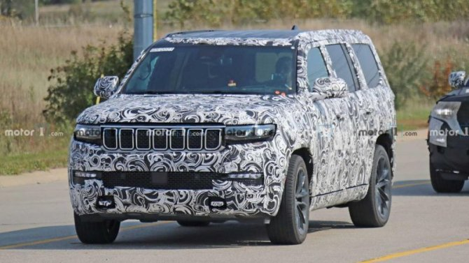 Премьера Jeep Wagoneer состоится совсем скоро