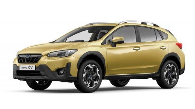 ВРоссии начались продажи обновлённого SubaruXV