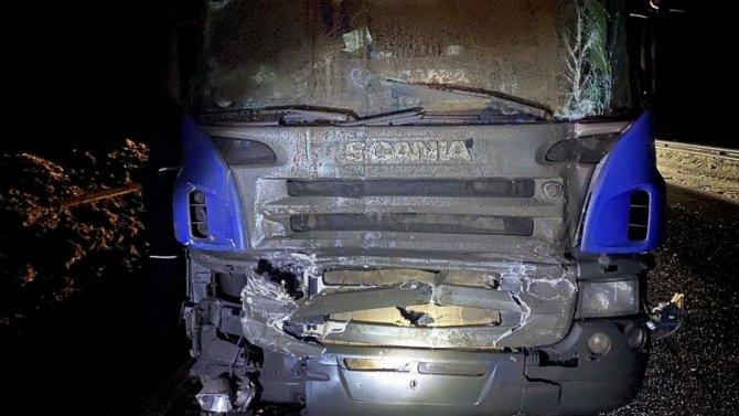 Во Владимирской области большегруз насмерть сбил двух водителей