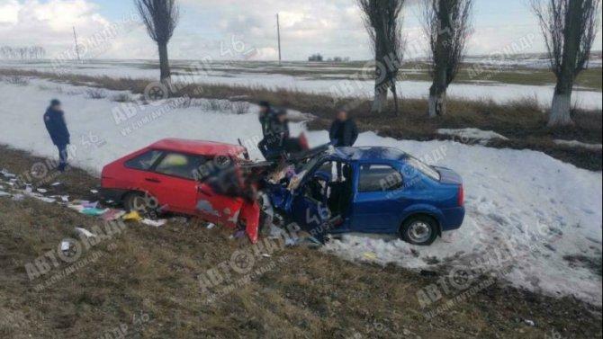 Два человека погибли в ДТП в Курской области