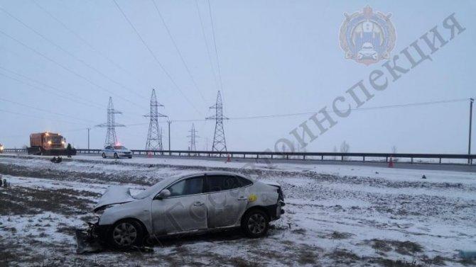 Три человека пострадали в ДТП в Тульской области
