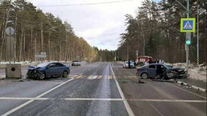 Четыре человека пострадали в ДТП под Калугой
