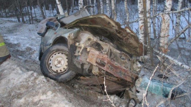 Два человека пострадали в ДТП на трассе «Тамбов – Пенза»
