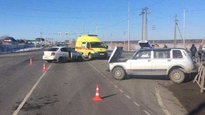 Под Тюменью по вине пьяной женщины-водителя пострадали дети