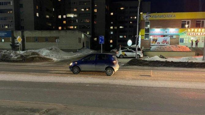 В Бердске иномарка сбила 13-летнюю девочку