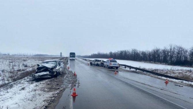 Пять человек пострадали в ДТП вРостовской области